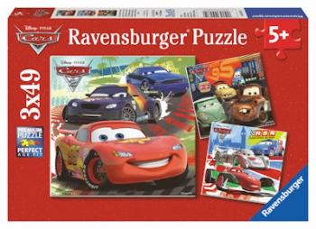 Ravensburger Puzzles 3x49Pce Worldwide Racing Fun