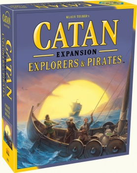 Catan: Explorers & Pirates Expansion Board Game