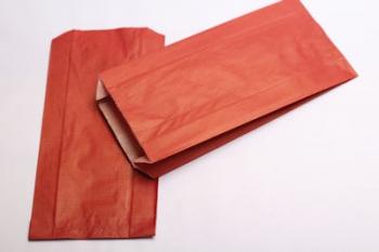 160x67x305 Red Kraft Gift Bag (250)