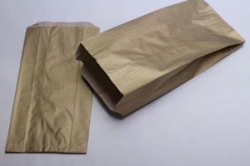 160x67x305 Gold Kraft Gift Bag (250)