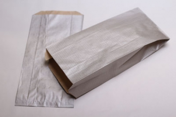 160x67x305 Silver Kraft Gift Bag (250)
