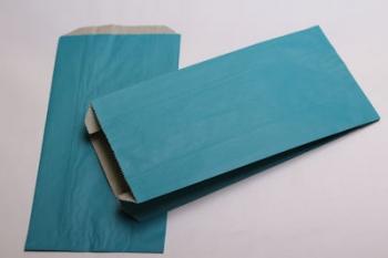 160x67x305 Turquoise Kraft Gift Bag (250)