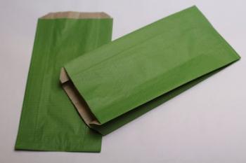 160x67x305 Green Kraft Gift Bag (250)