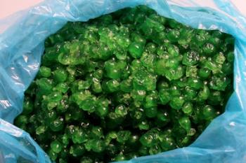 Green Broken Glaced Cherries (5 kg)