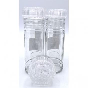 100ml Grinder Spice Glass Botttle Clear (24)