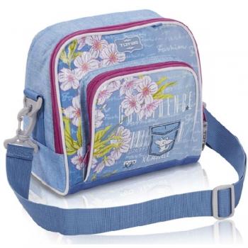 Totem Kids School Lunch Bag Busy Bee Blue