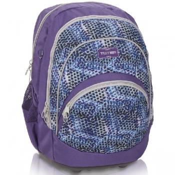 Totem Orthopedic School Bags Large Style Jungle