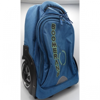 Boomerang School Bags L Big Wheel Trolley Navy