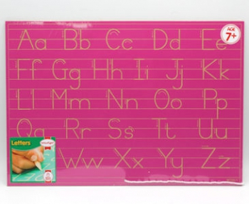 Write Right Freestate Alphabet Lines Combo Pink