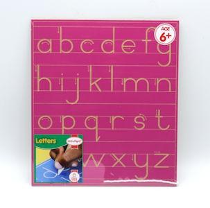Write Right Gauteng Standard Lower Case Line Pink