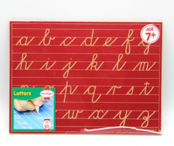 Write Right Cursive Lower Case Lines Red