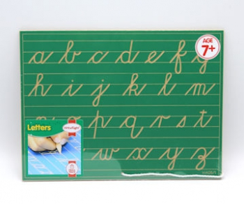 Write Right Cursive Lower Case Lines Green