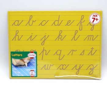 Write Right Cursive Lower Case Lines Yellow