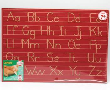 Write Right Gauteng Std Alphabet Lines Combo Red