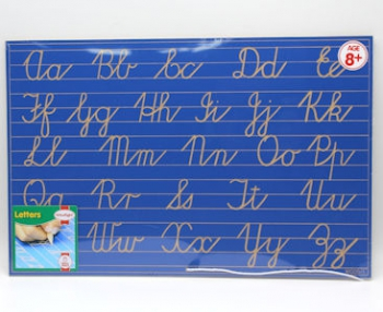 Write Right Cursive Aphabet Lines Combo Blue