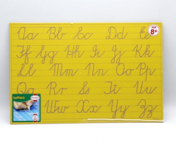 Write Right Cursive Aphabet Lines Combo Yellow