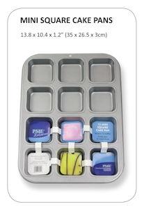 PME 12 Mini Square Cake Pan