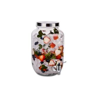 Beverage Dispenser Glass 3,3Lt
