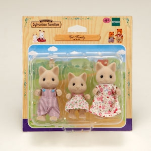 Sylvanian Families Cat Family Set