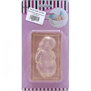 Baby on Tummy Silicone Mould