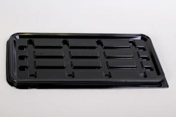 K75 Black Plastic Swiss Roll Base (10)
