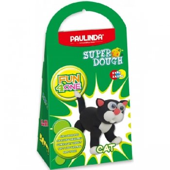 Paulinda Super Dough Fun 4 One Gift Pack Cat