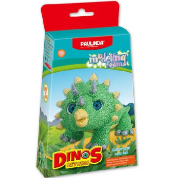 Paulinda Modelling Foam Dinos Return Green