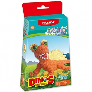 Paulinda Modelling Foam Dinos Return Orange