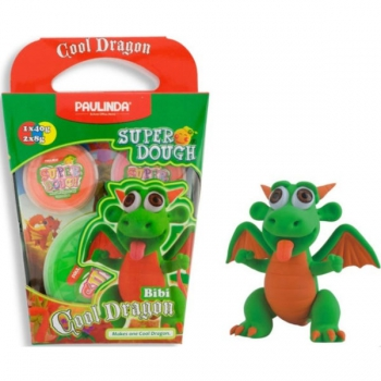 Paulinda Super Dough Cool Dragon Gift Pack Green