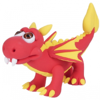 Paulinda Super Dough Cool Dragon Gift Pack Red