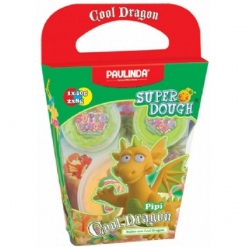 Paulinda Super Dough Cool Dragon Gift Pack Yellow