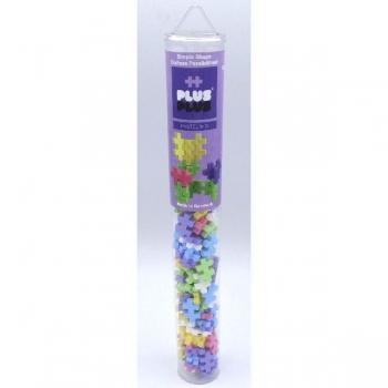 Plus Plus 100Pce Tube Pastel Mix