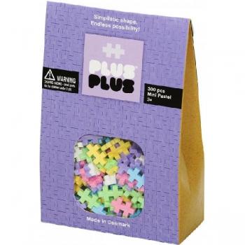 Plus Plus 300Pce Mini Pastel