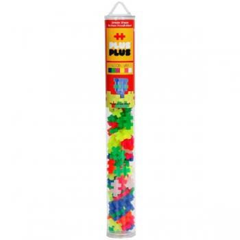 Plus Plus 100Pce Tube Neon