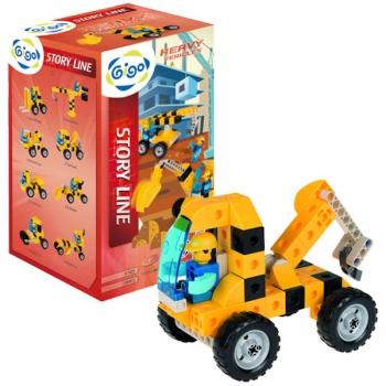 Gigo Junior Engineer Heavy Vehicles 120 Pce