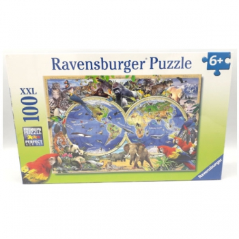 Ravensburger Puzzles 100Pce Animals of the Earth