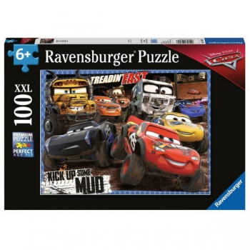 Ravensburger Puzzles 100Pce Cars Mudders