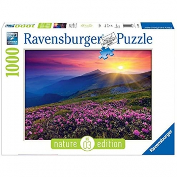 Ravensburger Puzzles 1000Pce Early Morn Mountains