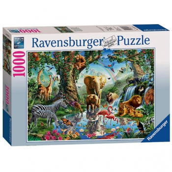 Ravensburger Puzzles 1000Pce Adventures In Jungle
