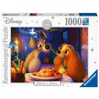Ravensburger Puzzles 1000Pce Lady And The Tramp