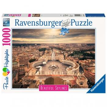 Ravensburger Puzzles 1000Pce Beautiful Skylines