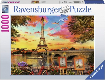 Ravensburger Puzzles 1000Pce Banks of the Seine