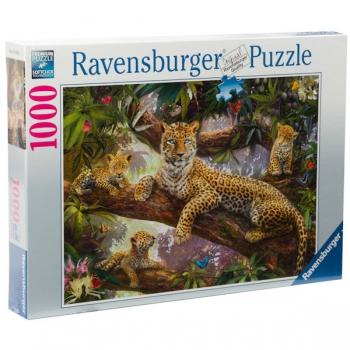 Ravensburger Puzzles 1000Pce Leopard Family