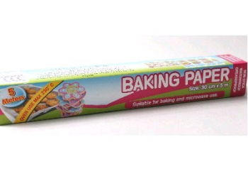 Disposable Baking Paper Roll (30cm x 5m)