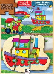 RGS Puzzle Little Movers 2&3pcs