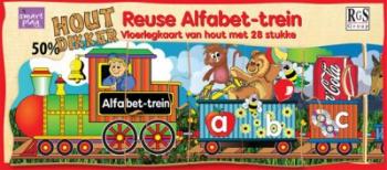 RGS Puzzle Alfabet Trein Afrikaans