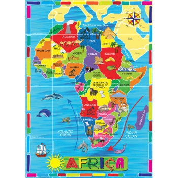 RGS Puzzles Map of Africa 36Pce