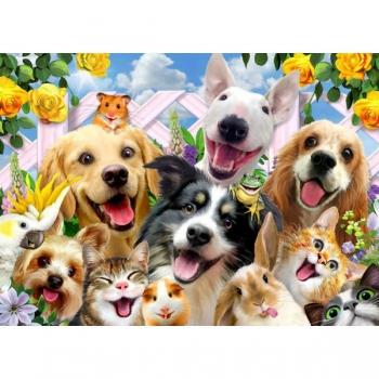 RGS Puzzles Happy Pets 36Pce