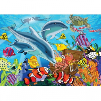 RGS Puzzles Under the Sea 63Pce