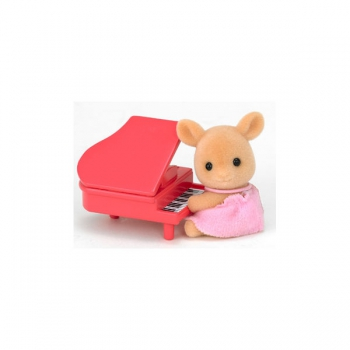 Sylvanian Families Baby Deer and Piano